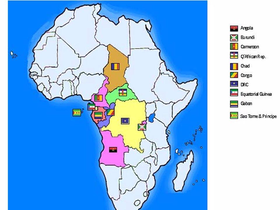 3 I: La Communauté Economique des Etats de lAfrique Centrale (CEEAC) Traité signé en octobre 1983 à Libreville, Entrée en vigueur en 1984. Cessation d