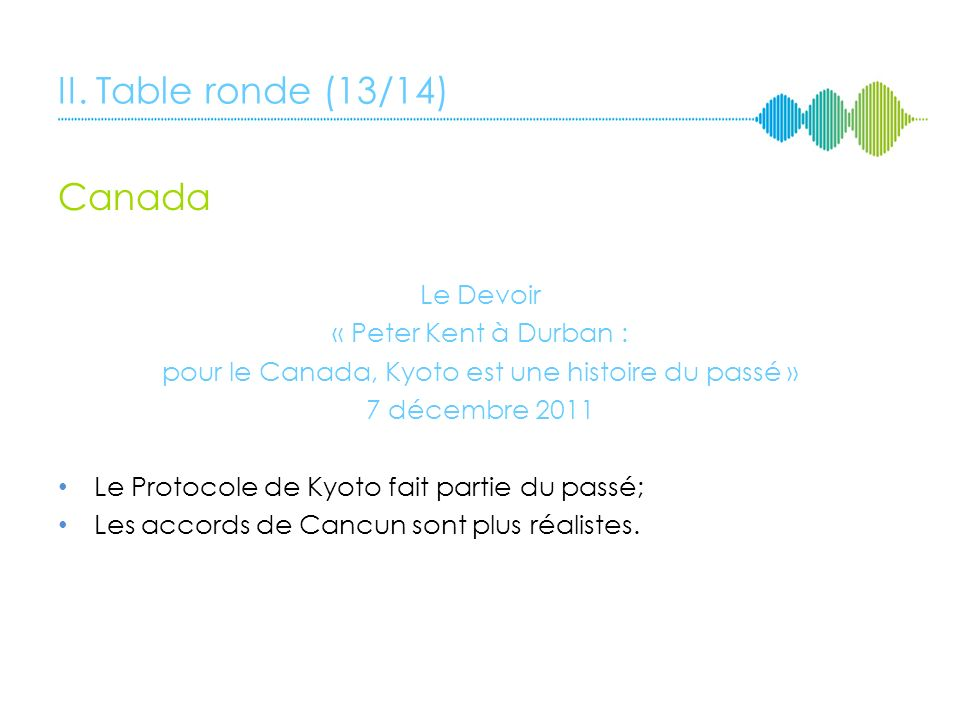 II. Table ronde (12/14) Japon