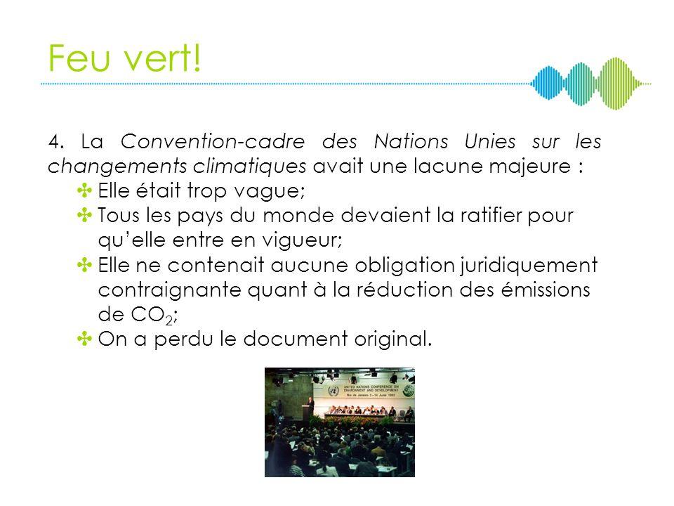 3. Quel groupe dexperts, créé en 1988 par lOrganisation météorologique mondiale et le Programme des Nations Unies pour lenvironnement, a mobilisé la c
