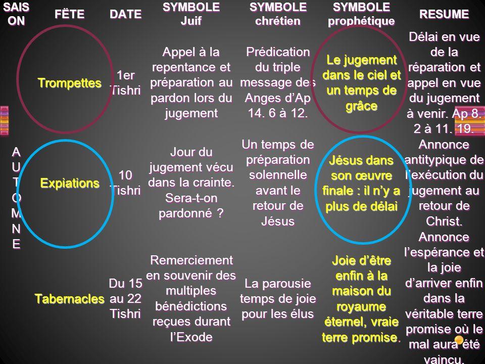 Les 7 Trompettes Fléaux (Coupes) Le jugement de Babylone La Nouvelle Jérusalem Les 7 Sceaux Eglises IntroductionIntroduction Conclusion-Conclusion- Ap 1.9 à 3.22 Ap 4 à 8.1 Ap 8.2 à 11.19 Ap 15 et 16 Ap 12 à 14 Ap 17 à 21.8 Ap 21.9 à 22.5 Avertissements Jugement Attention .