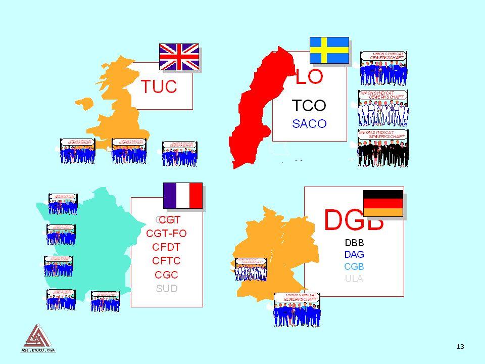 13 Unions CGT