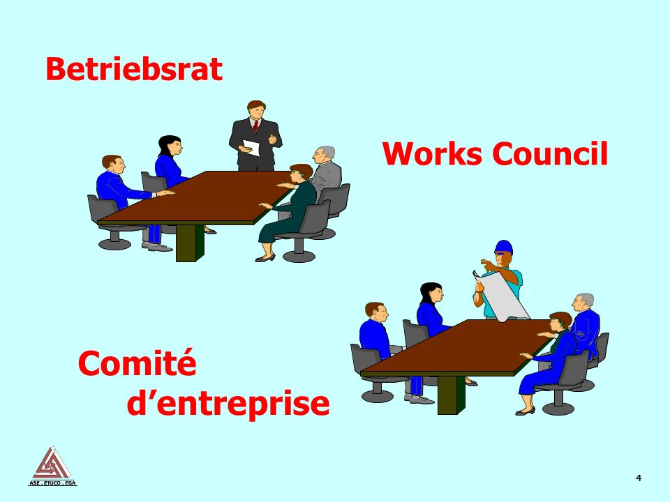 4 Works Council Betriebsrat Comité dentreprise