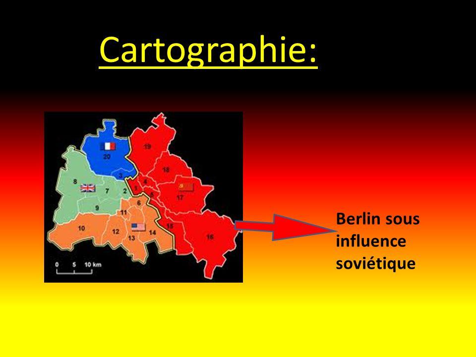 Cartographie: Berlin sous influence soviétique