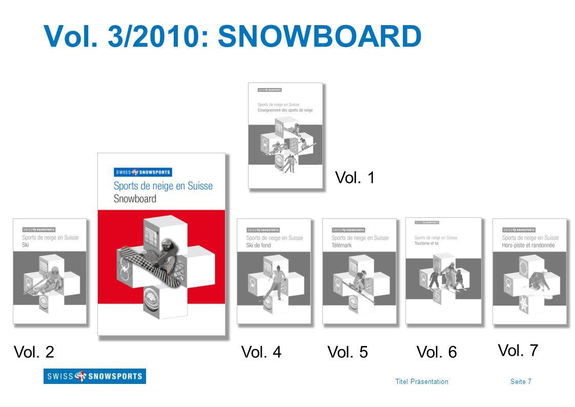 Seite 7Titel Präsentation Vol. 3/2010: SNOWBOARD Vol. 1 Vol. 2Vol. 4Vol. 5Vol. 6 Vol. 7