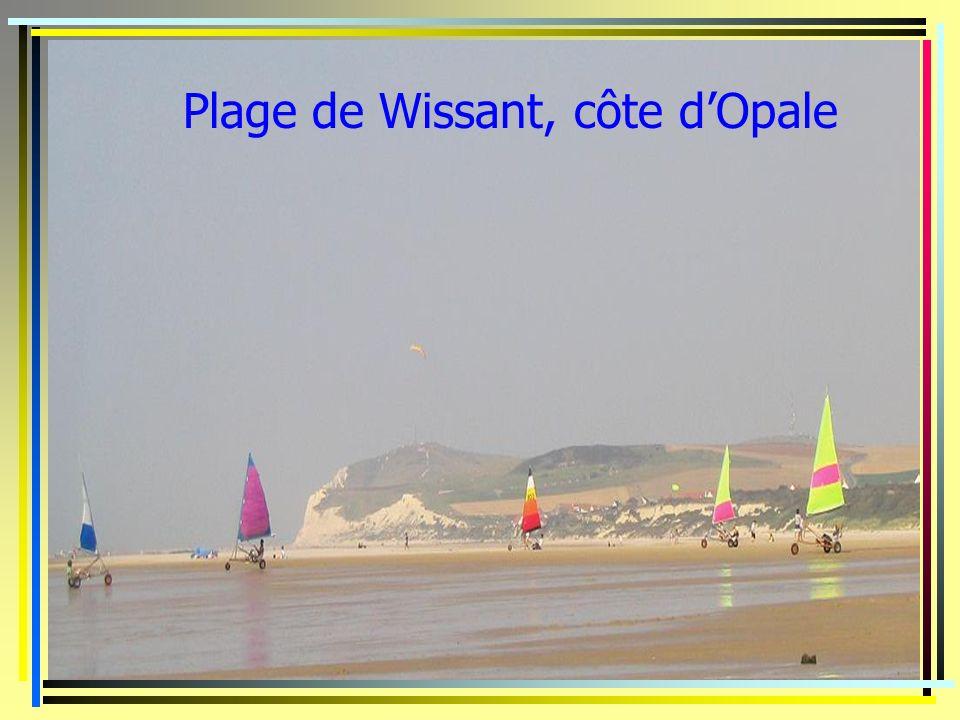 Plage de Wissant, côte dOpale