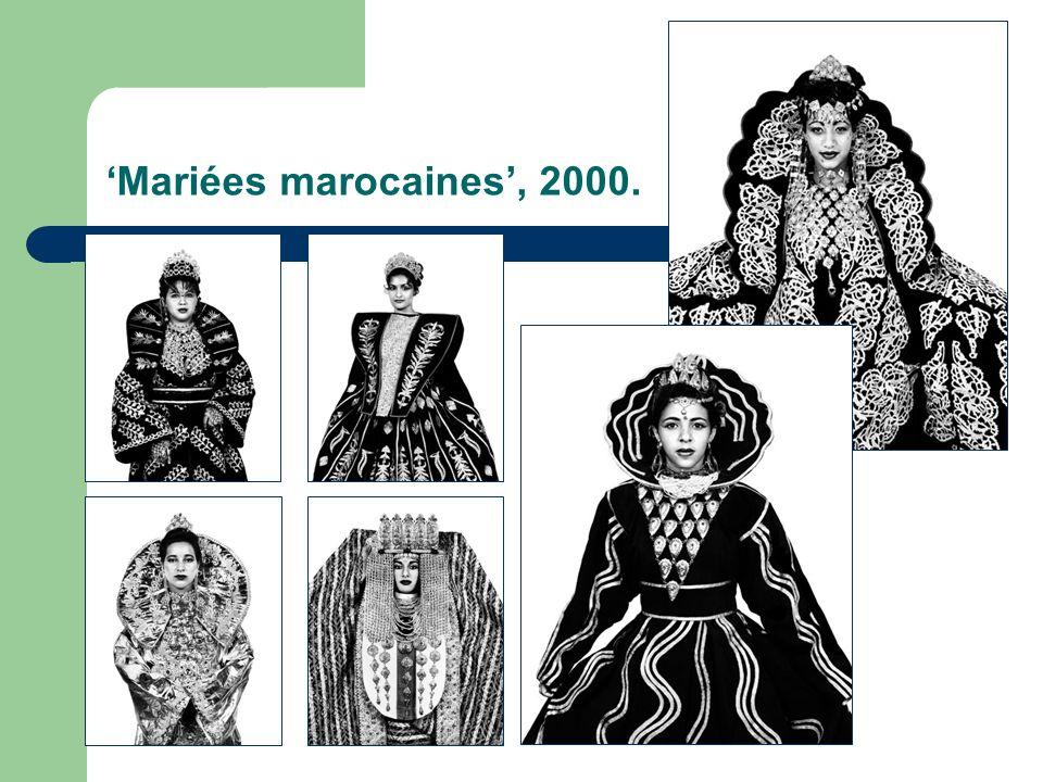 Mariées marocaines, 2000.