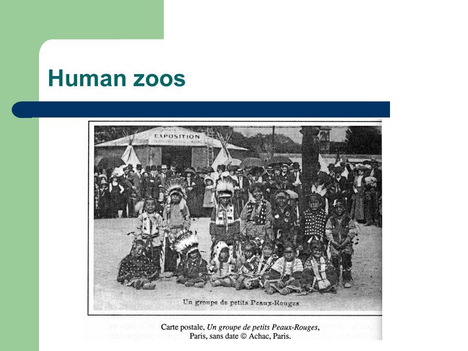 Human zoos