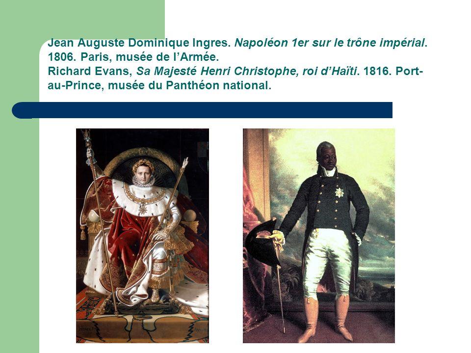 Jean Auguste Dominique Ingres.Napoléon 1er sur le trône impérial.