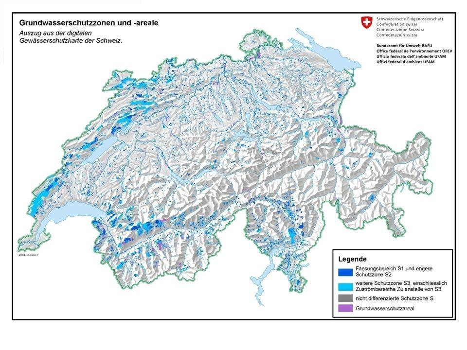 Chiffres et faits positionsvaleurs zones de protection de la nappe phréatique CH42% dans la forêt part de leau potable de la forêt40%, 400 mio de m 3 surface de la forêt suisse concernée (= surface forestière LU, UR, SZ, NW, OW) 125000 hectares économies réalisées en raison du traitement des eaux au moyen des zones de protection en forêt CHF 80 mio par année perte économique des propriétaires de forêtsCHF 640.- / ha * an