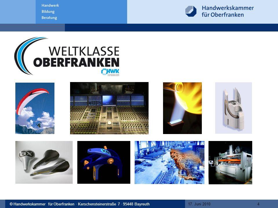 © Handwerkskammer Musterstadt, Musterstraße 123, 12345 Musterstadt© Handwerkskammer für Oberfranken · Kerschensteinerstraße 7 · 95448 Bayreuth 17.