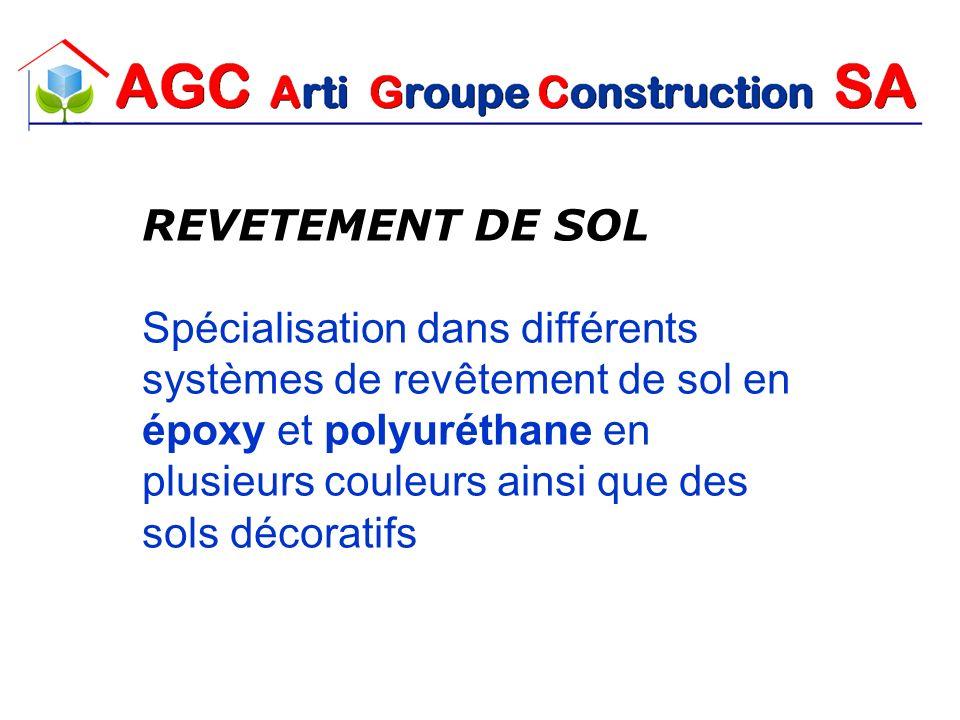 REVETEMENT DE SOL Spécialisation dans différents systèmes de revêtement de sol en époxy et polyuréthane en plusieurs couleurs ainsi que des sols décor