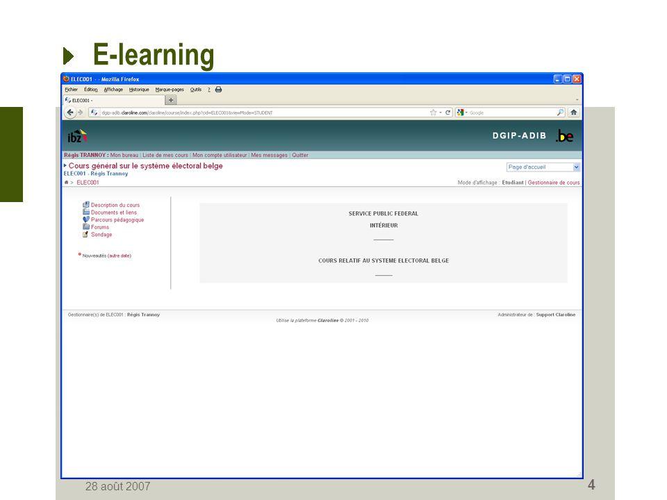 E-Learning 7 décembre 2011 5