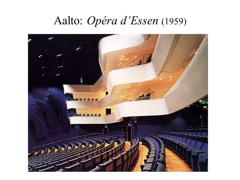 Aalto: Opéra dEssen (1959)