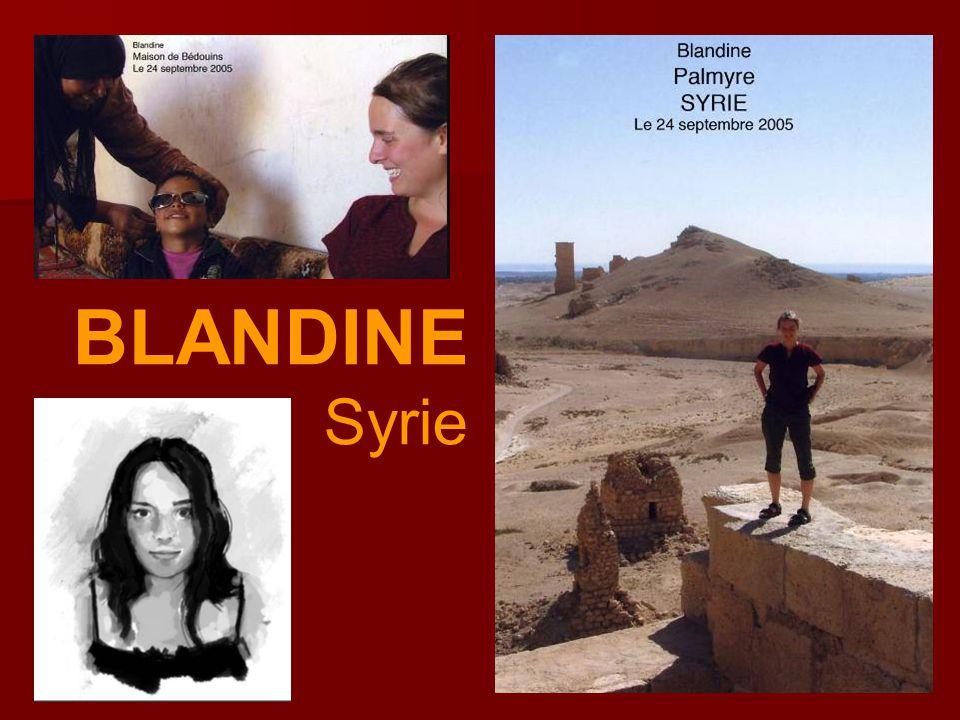 BLANDINE Syrie
