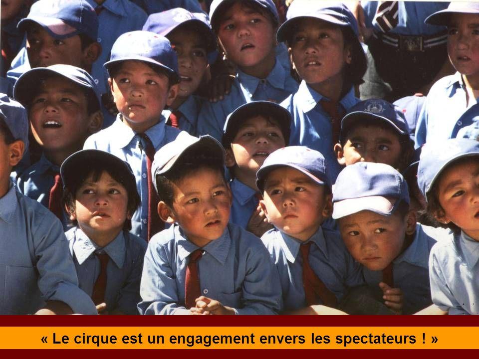 « Le cirque est un engagement envers les spectateurs ! »