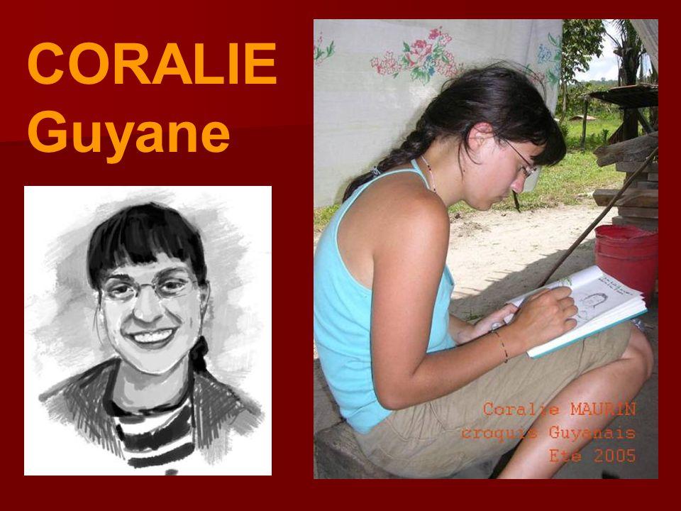 CORALIE Guyane