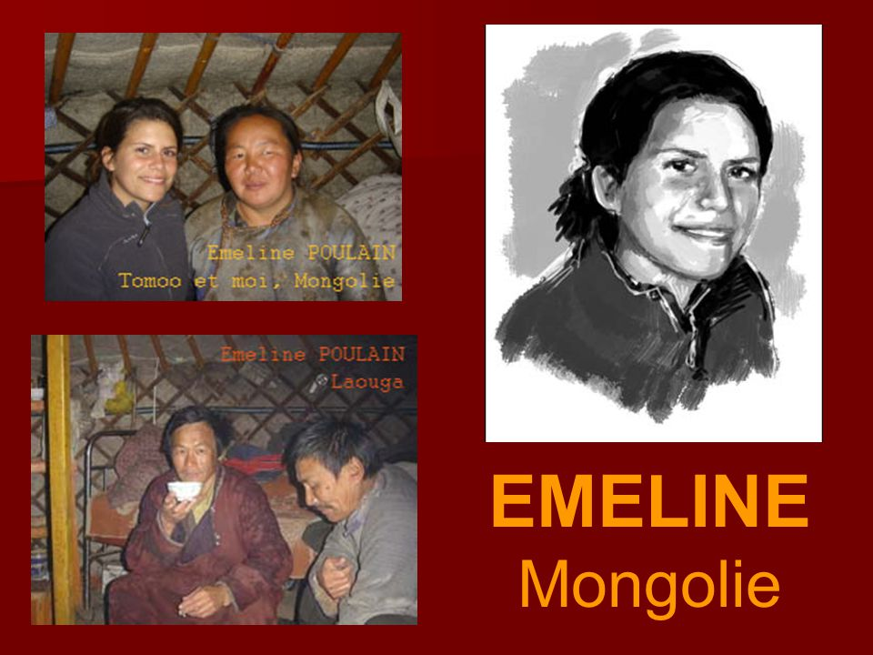 EMELINE Mongolie