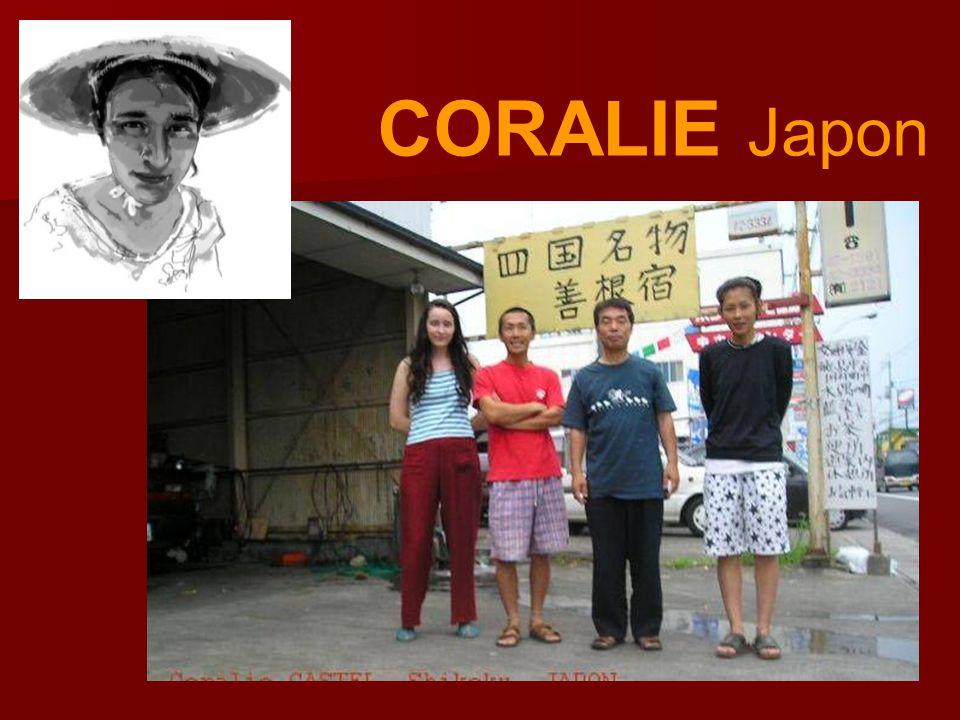 CORALIE Japon