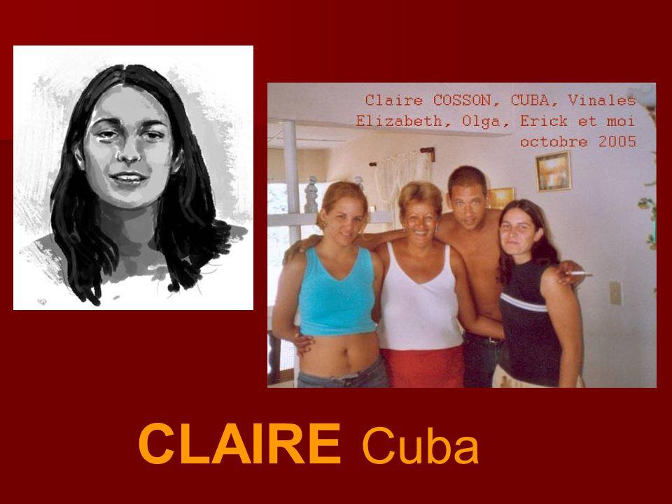 CLAIRE Cuba