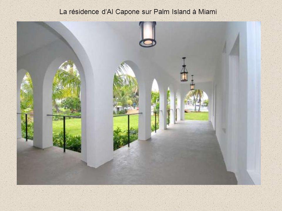 La résidence dAl Capone sur Palm Island à Miami arrive sur le marché avec 9,95 millions de dollars le prix demandé