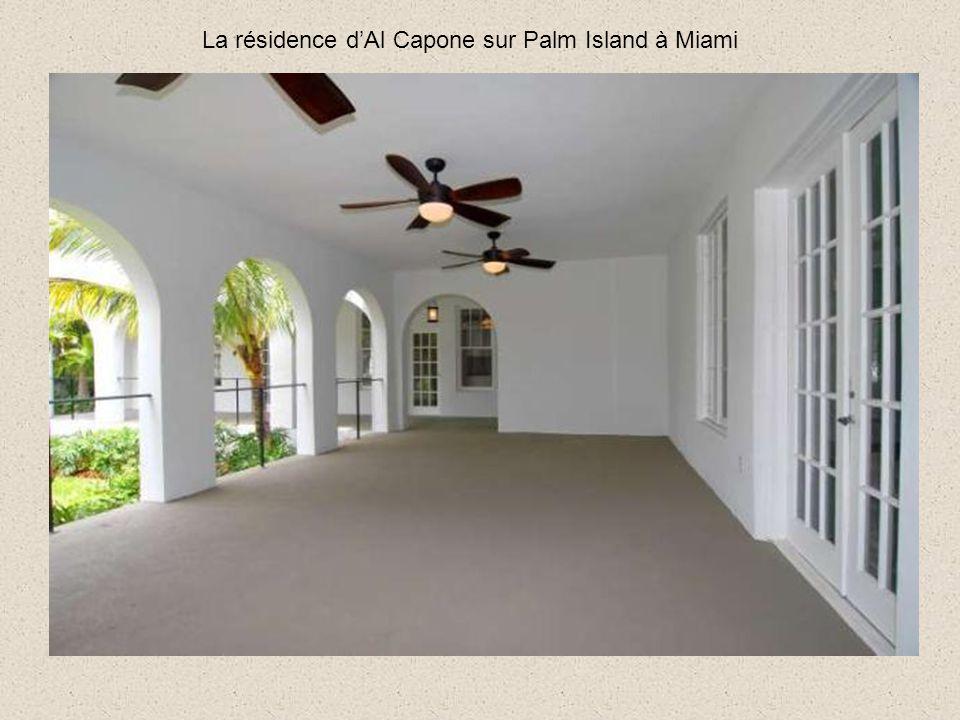 La résidence dAl Capone sur Palm Island à Miami