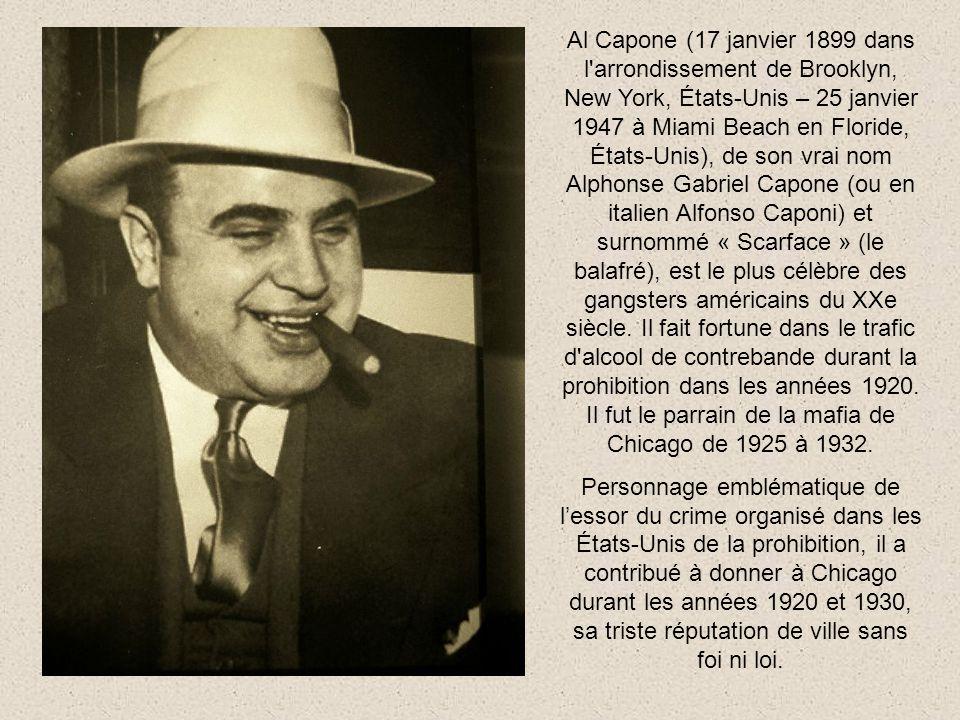 Al Capone et son fils