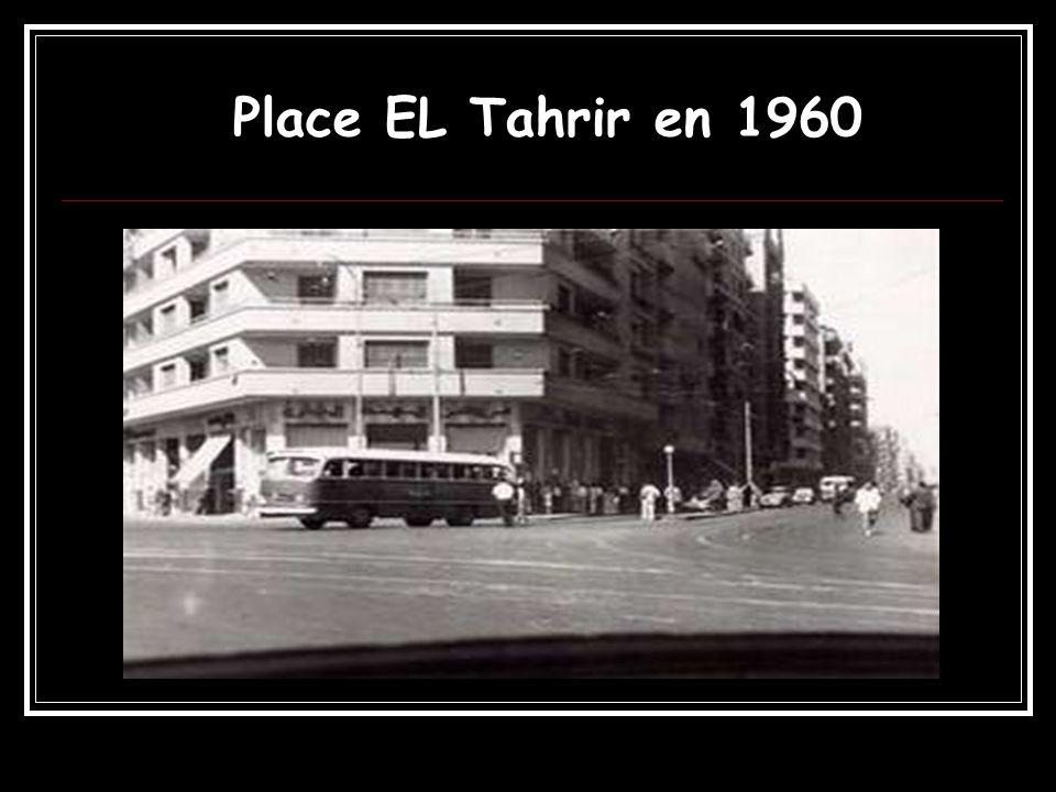 Place EL Tahrir en 1960