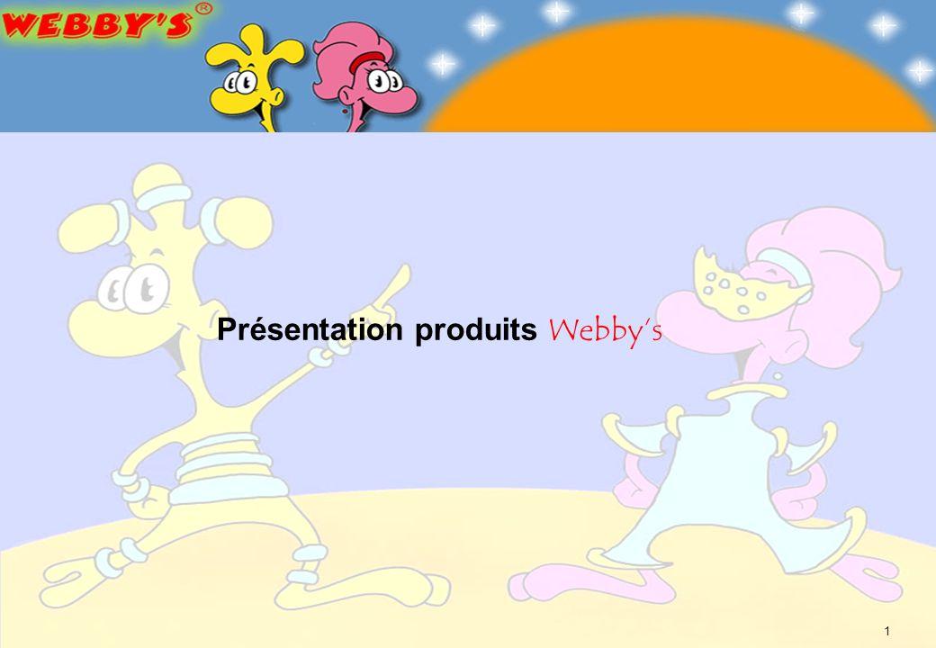 1 Présentation produits Webbys