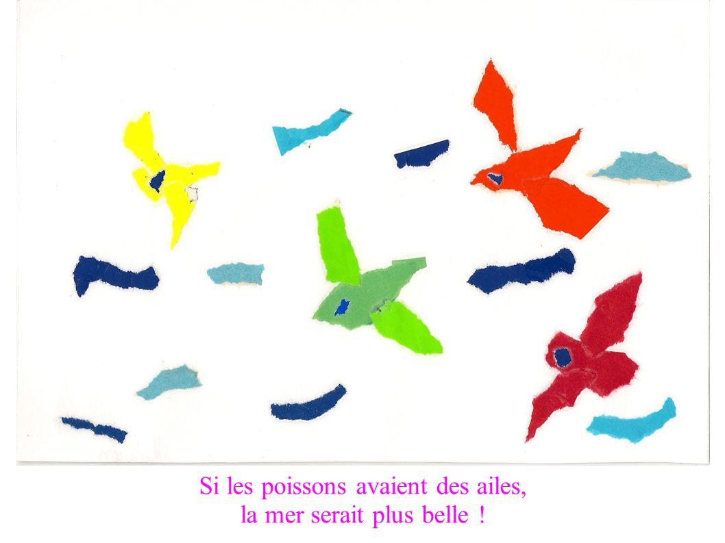 Si les poissons avaient des ailes, la mer serait plus belle !