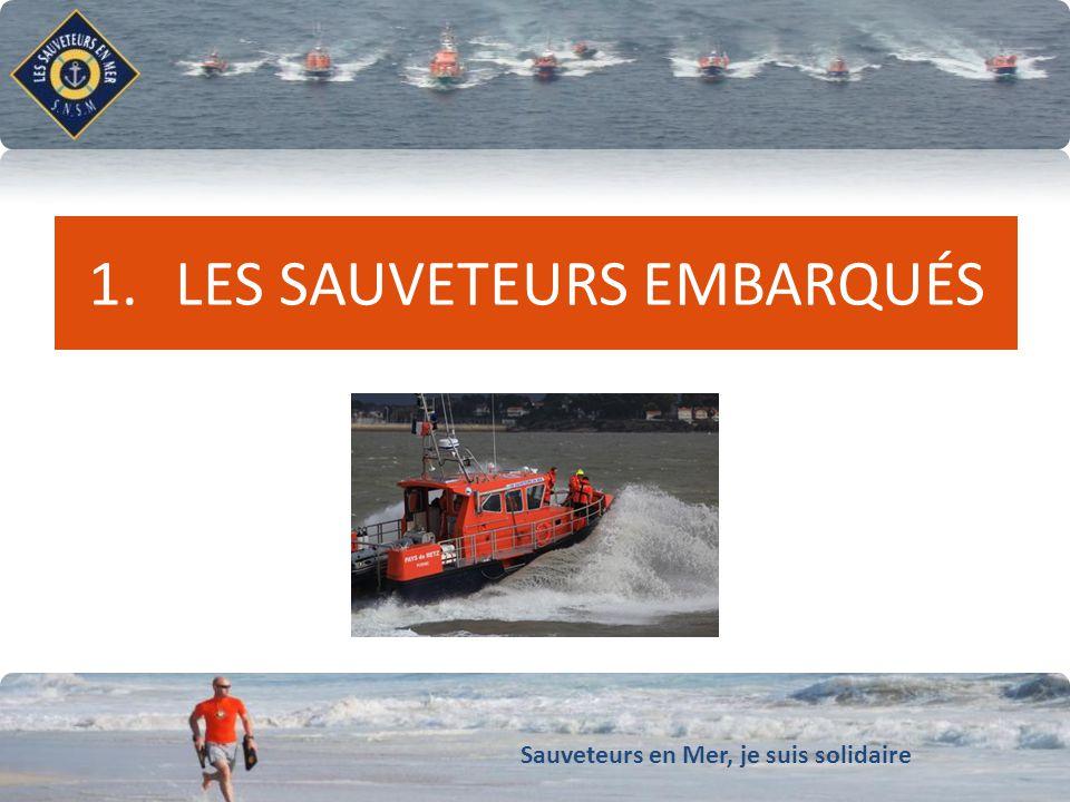 Sauveteurs en Mer, je suis solidaire Conforter notre dynamique de développement QUI SONT-ILS .