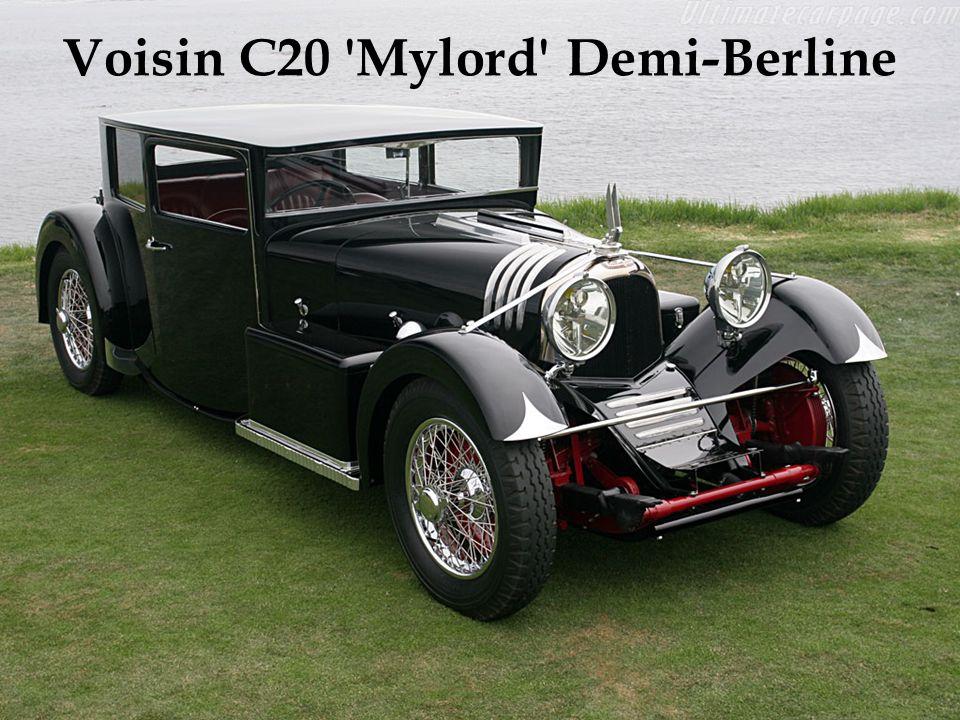 Moteur de 6 cylindres en ligne de 7,7 litres. Exemplaire unique. Carrosserie construite en Belgique, dans les années 30. Acquise aux enchères par un c