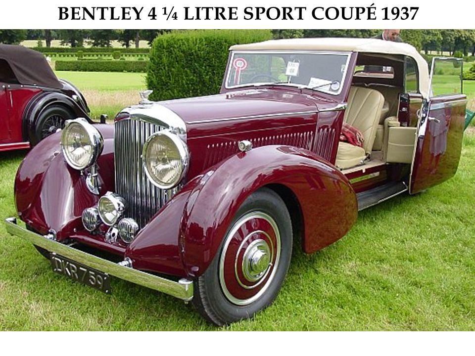 Moteur V12 de 4,8 litres sans soupape. Exemplaire unique, construit en 1931.