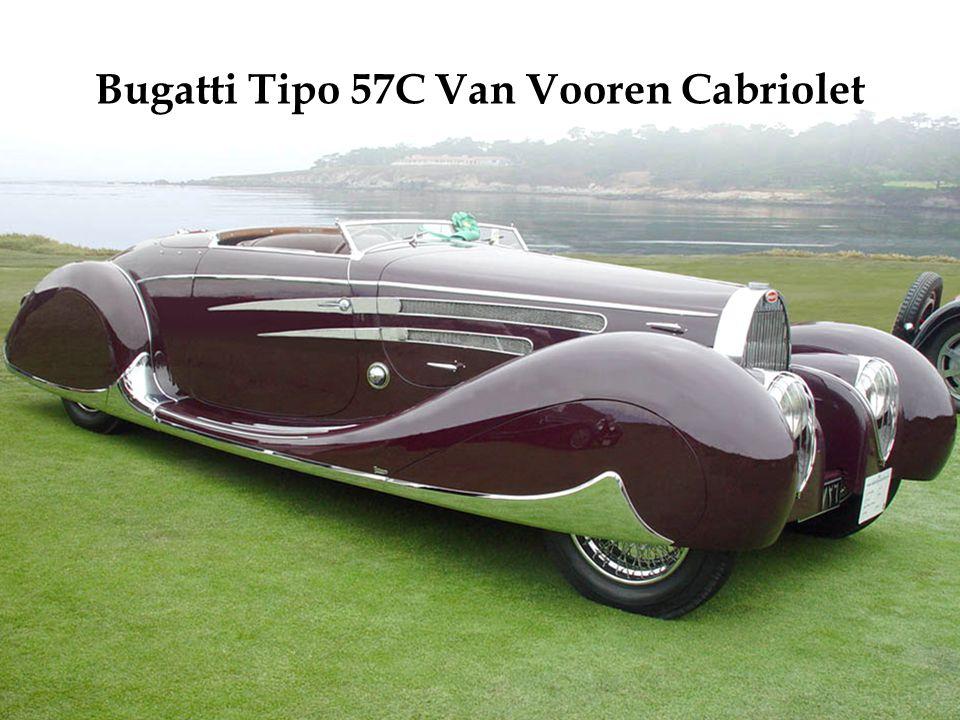 Moteur V12 de 4,9 litres. Exemplaire unique, construit en 1931. Une des premières traction avant.