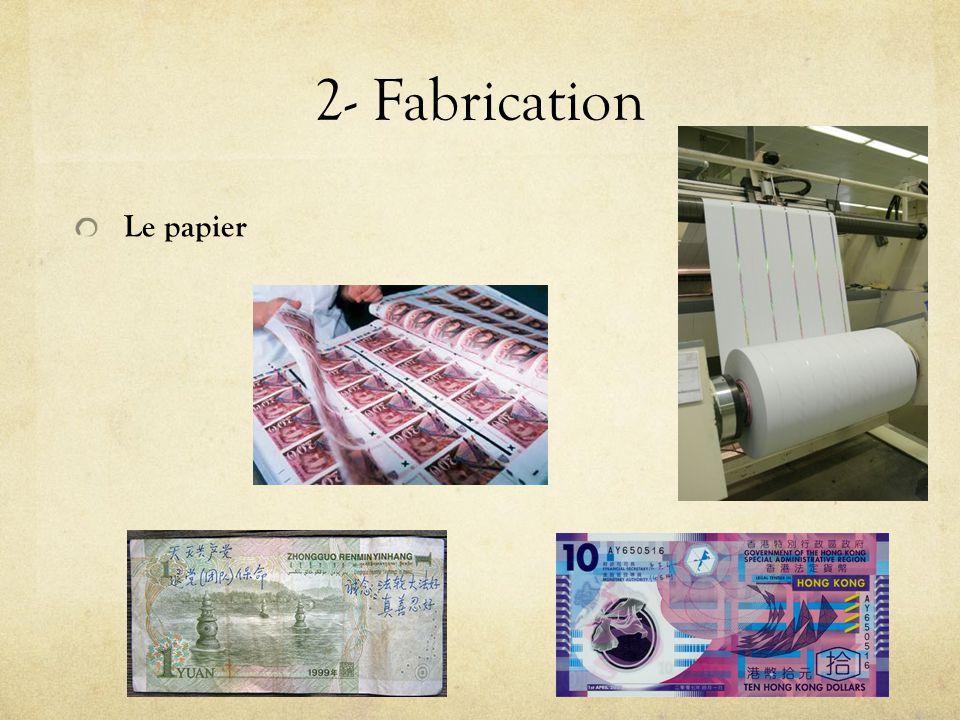 2- Fabrication Le papier