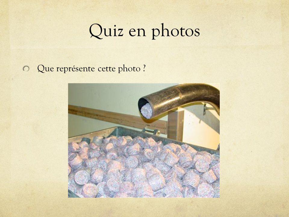 Quiz en photos Que représente cette photo ?