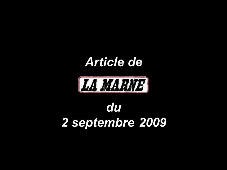 Michel Fouchault est resté droit dans ses bottes et convaincu quil fallait faire croire à sa vérité le 26 juin 2009, cest-à-dire 3 jours avant que le Préfet de Seine-&-Marne fasse paraître sa mise en demeure le 29 juin 2009 (il faut le faire)