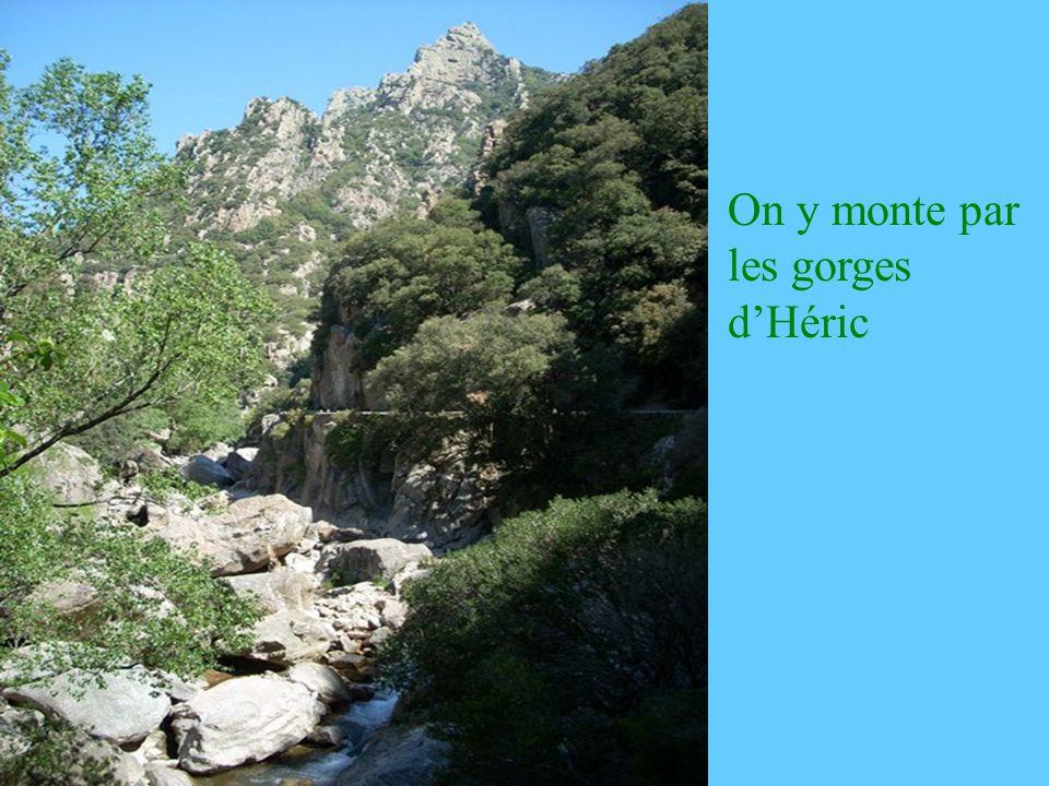 De son sommet, la vue s étend, par temps clair, du Mt Ventoux au Canigou et au Carlit