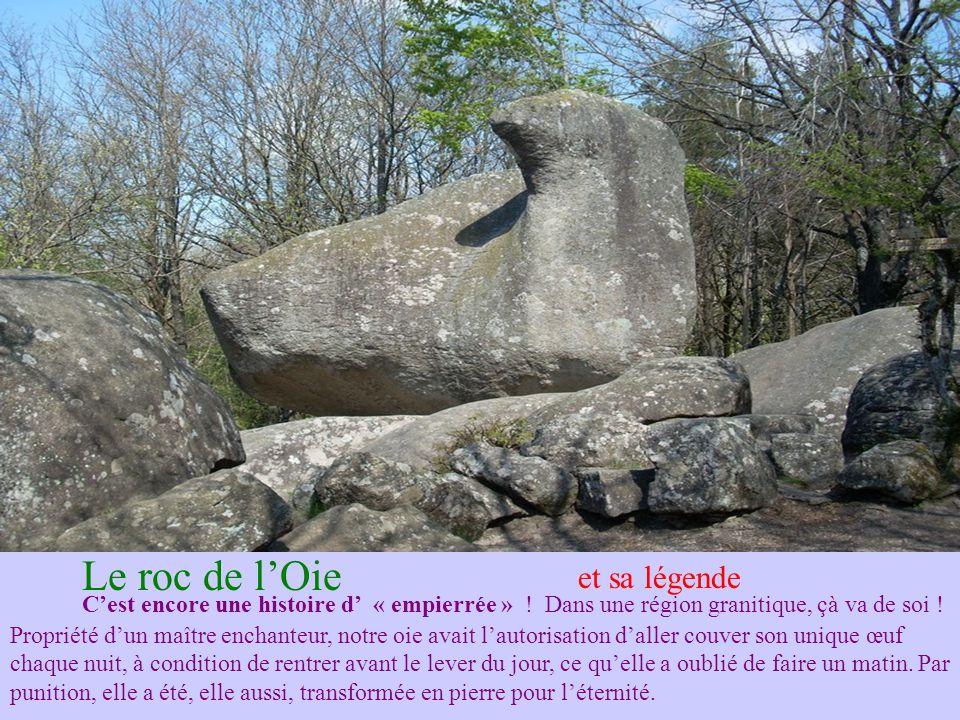 Peyro Clabado 780 tonnes de granit posées naturellement sur un rocher plus petit.