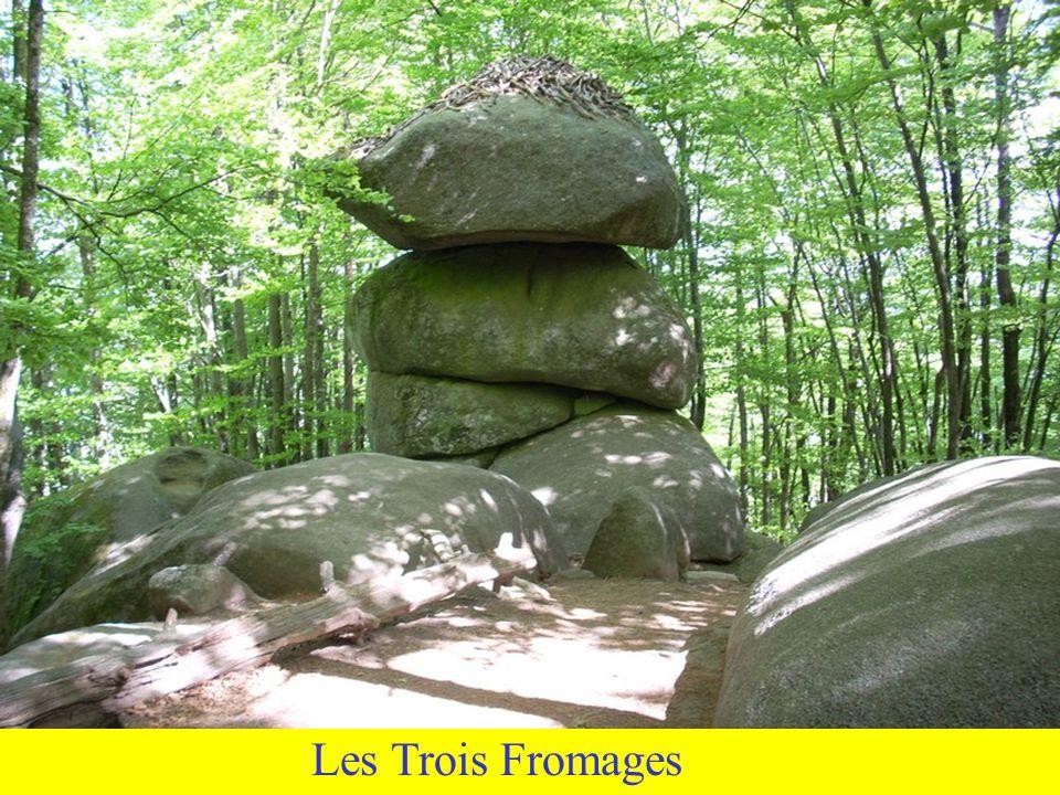 Le roc de lOie Cest encore une histoire d « empierrée » .