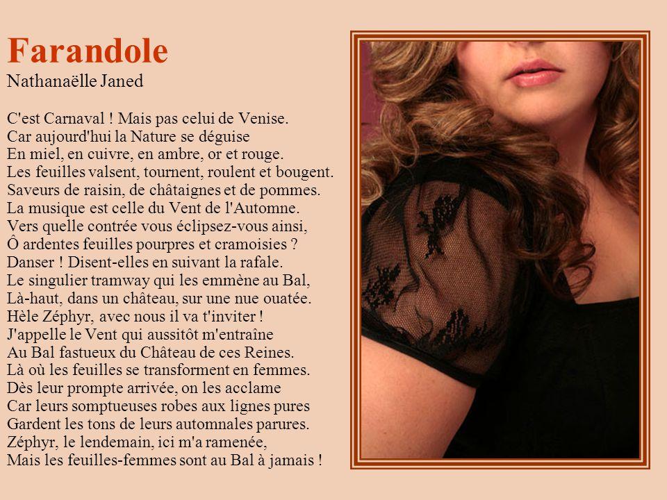 Farandole Nathanaëlle Janed C est Carnaval .Mais pas celui de Venise.