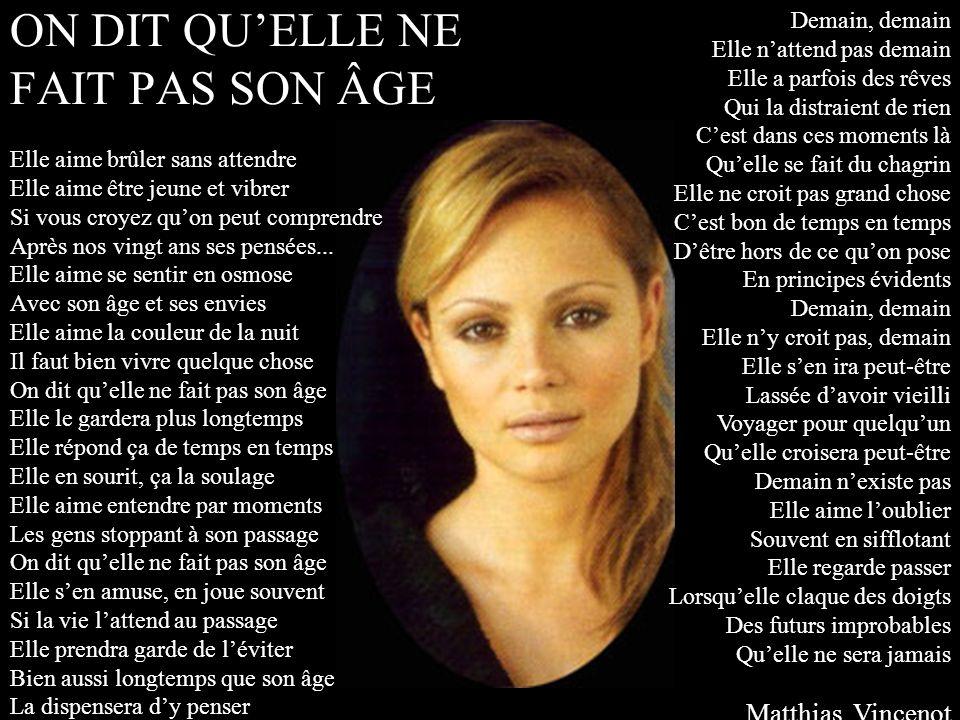 L hirondelle d automne Olga Bluteau J aurais tant voulu être celle Que tu aimas il y a trente ans...