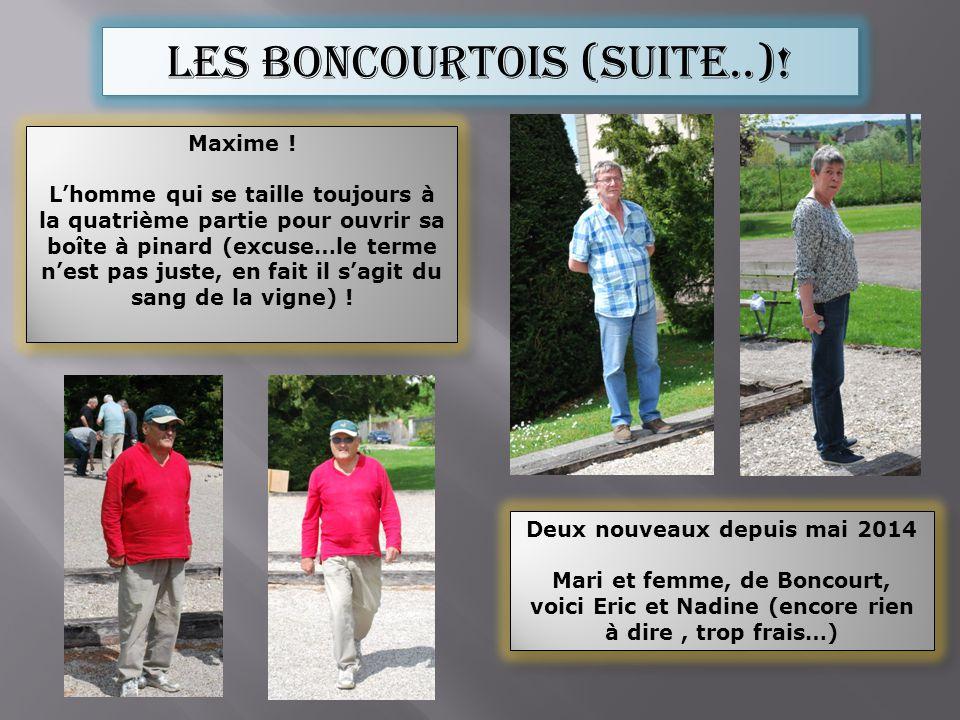 Les boncourtois (suite..).Maxime .