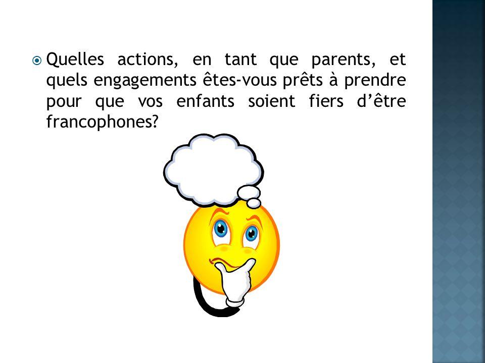 Deux grands défis: réussite scolaire construction identitaire La Commission scolaire de langue française est une collectivité acadienne et francophone