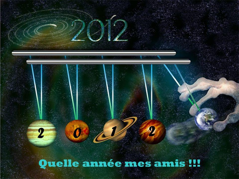 Quelle année mes amis !!! 20 12