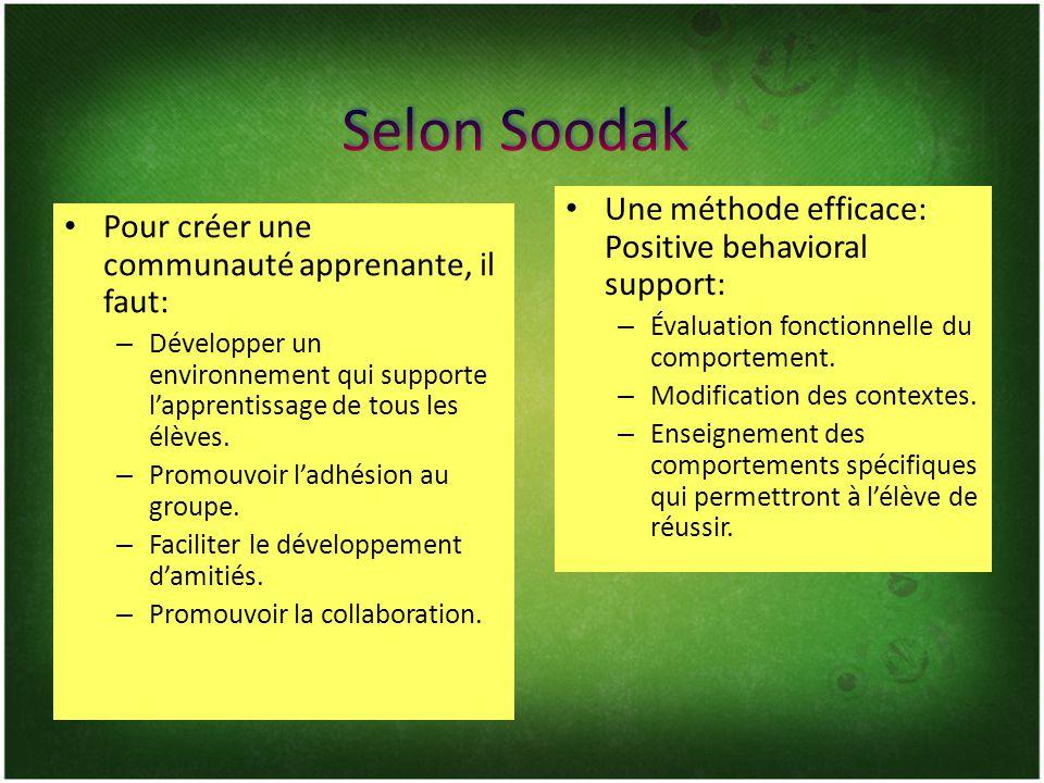 Selon Strike (2004), une communauté apprenante se construit sur 4 principes: – Cohérence – Cohésion – « Caring »- se soucier de… Contact Strike, K.
