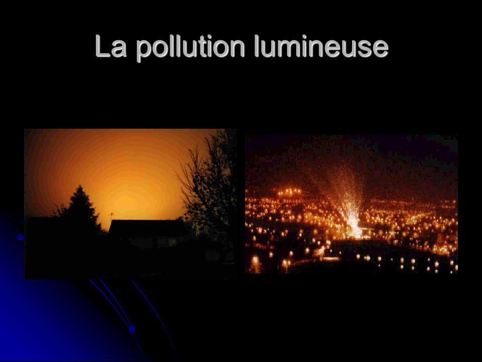 La pollution lumineuse