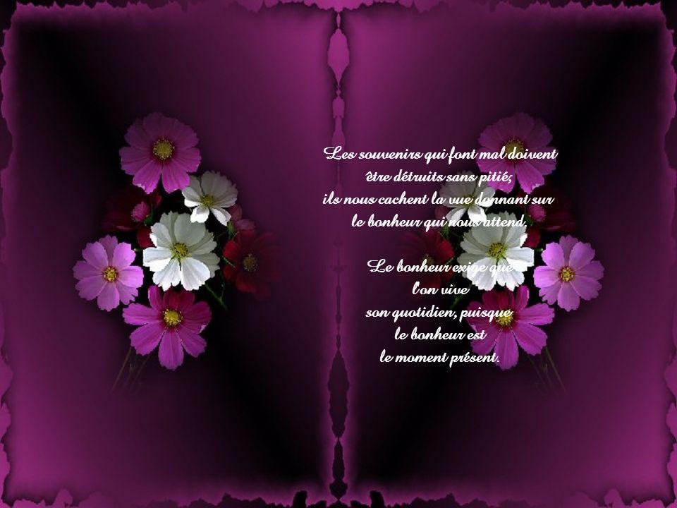 Le chemin du bonheur Auteur inconnu Bonne journée Musique : Angels in Flight Giovanni Marradi Création : Lise Tardif ( Nov.