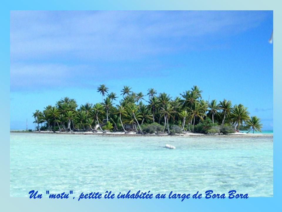 Autre vue d'avion de Bora Bora