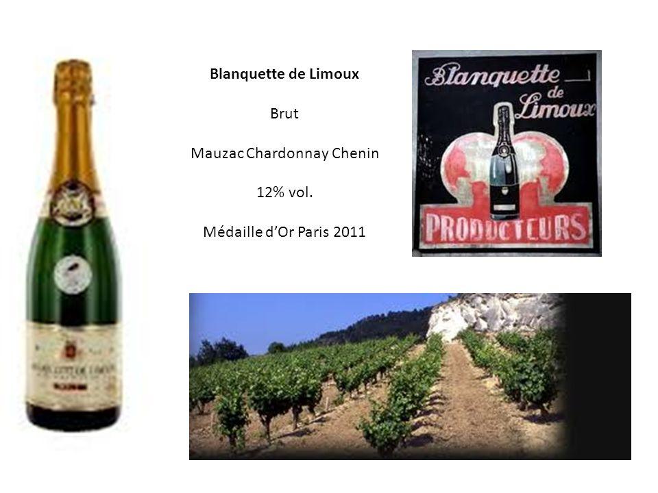 Blanquette de Limoux Brut Mauzac Chardonnay Chenin 12% vol.