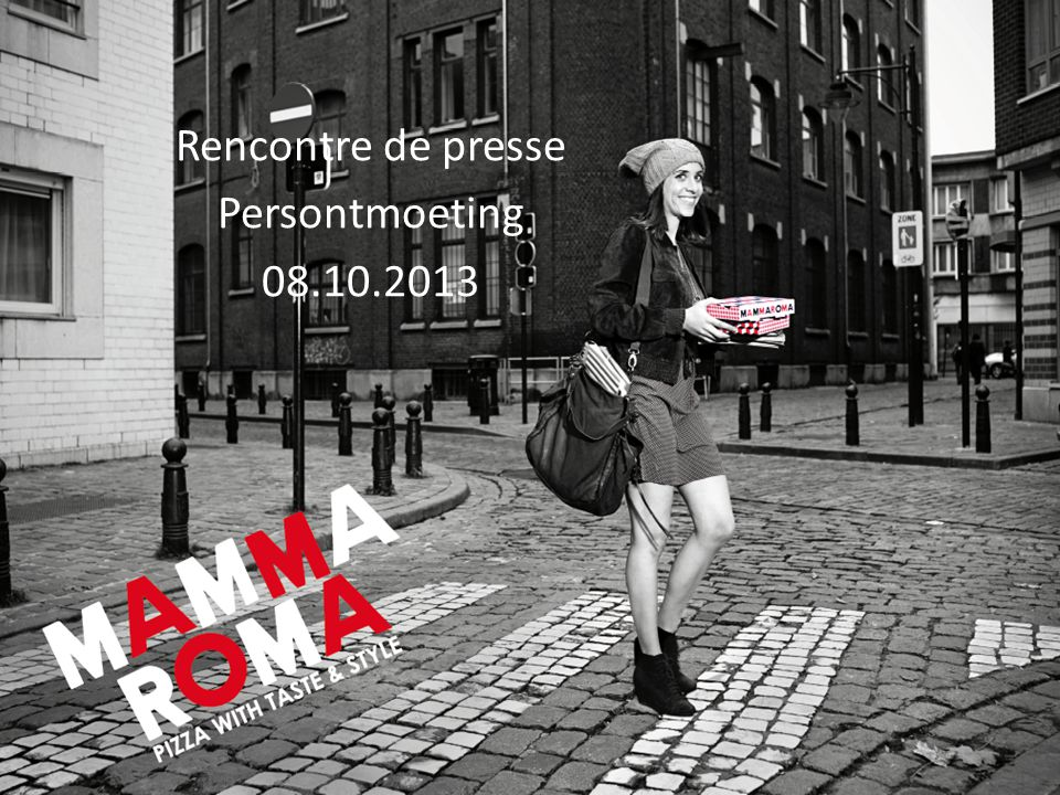 Rencontre de presse Persontmoeting 08.10.2013